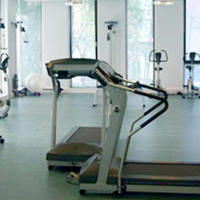 Foto van oefenzaal Fysiotherapie Delft