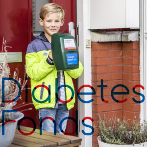 Collecte Diabetes Fonds in Delft