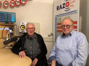 Joop (links) en Herbert