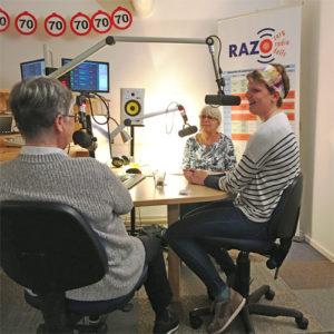 Inloophuis Debora te gast in de RAZO & Zorg studio