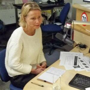 Edith holierhoek bij Zorgradio RAZO Delft