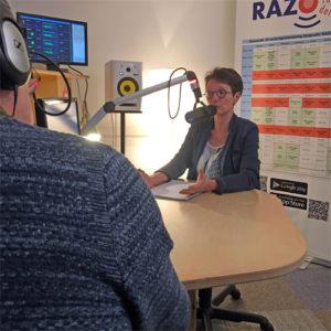 Anja v.d. Meijs in RAZO studio