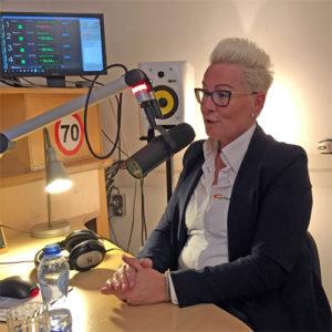 Manuela bij Zorgradio RAZO Delft