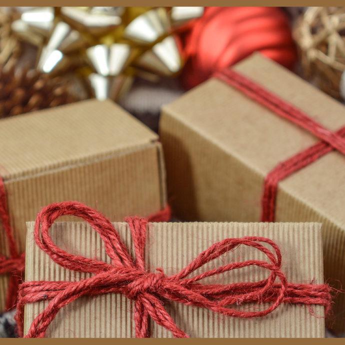 Pakjes met de feestdagen