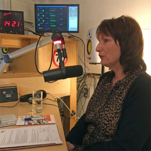 Petra in Studio Zorgradio RAZO