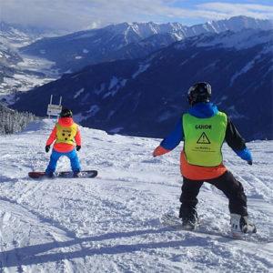 Blind skien