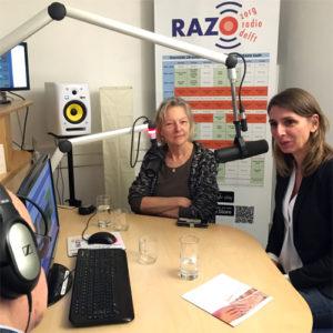 Lia Prins en Linda Brom van ZorgMies Delft