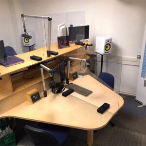 Aangepaste studio